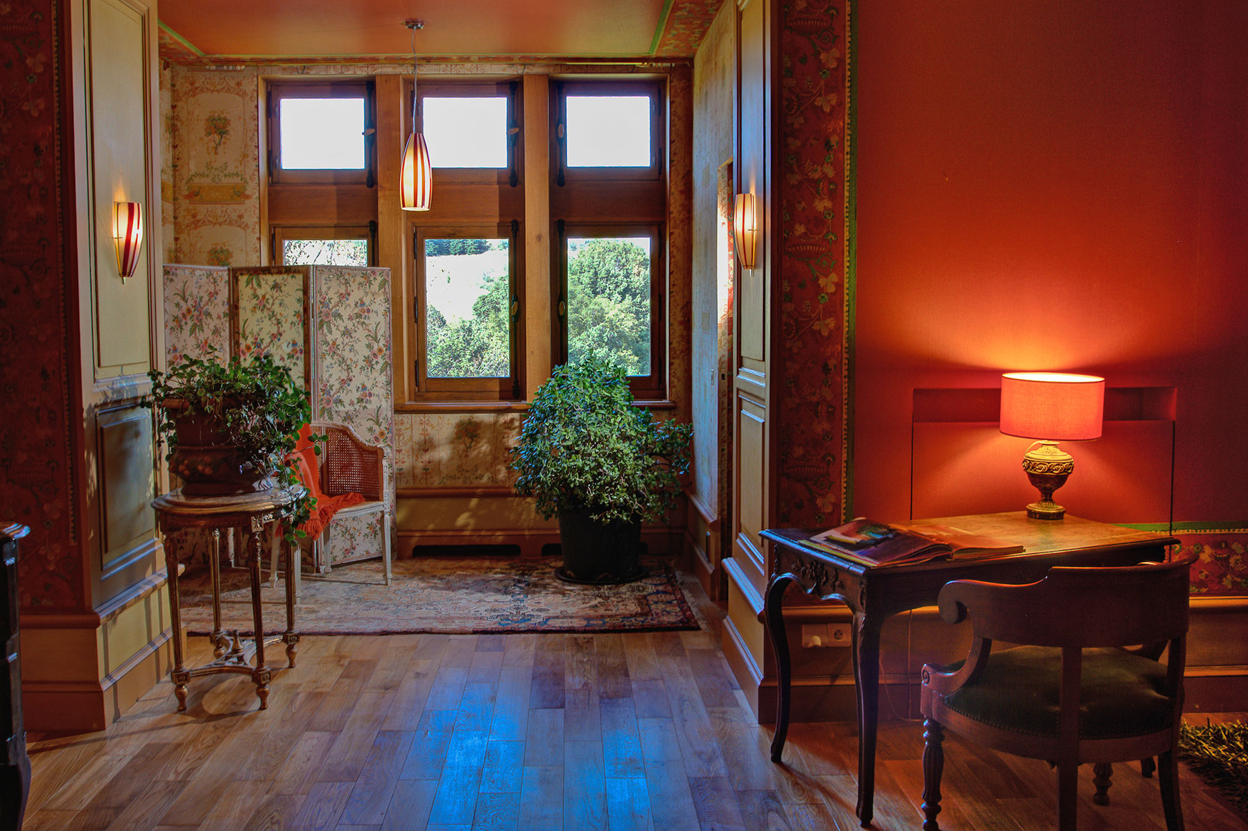 Chambres d 39 h tes de luxe ch teau du besset ard che - Chambre d hote chateau renard ...